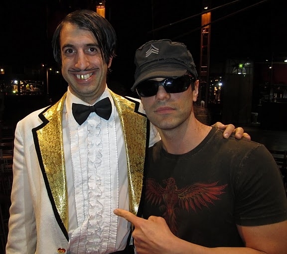 Photo Flash: Criss Angel Visits ABSINTHE