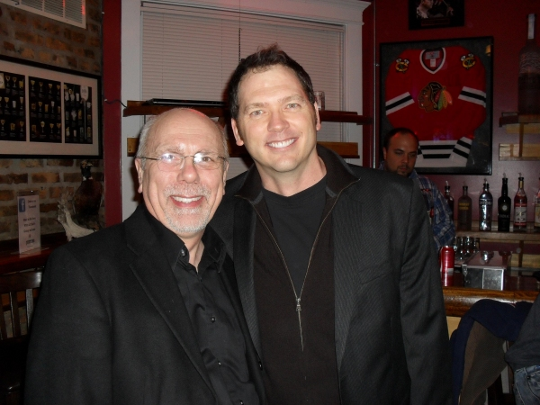 Roger Smart with Brad Woodard