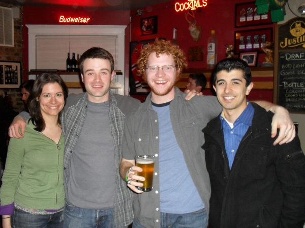Melissa Nedell, Dan Wilson, Steve Peebles, and Behzad Dabu at Shattered Globe's DOWN AND DIRTY ROMEO & JULIET