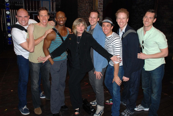Photo Flash: John Kander, Debra Monk, et al. Visit Paper Mill's CURTAINS