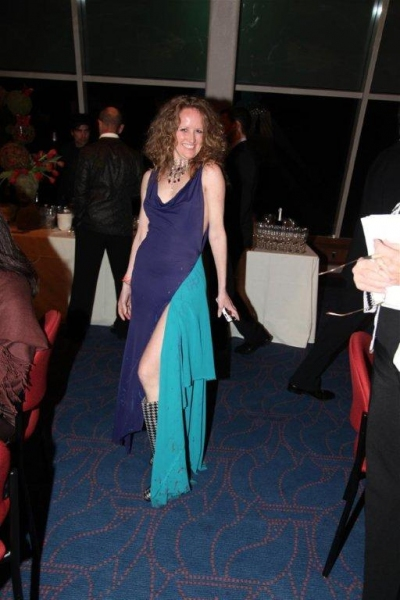 Photo Flash: Stroman, Osnes, et al. at Astaire Awards After Party