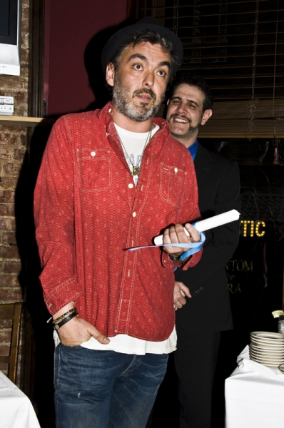 Jez Butterworth, at  2011 Drama Critics Circle Awards