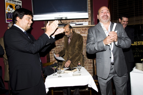 Robert Lopez, Stanley Donen & Scott Rudin