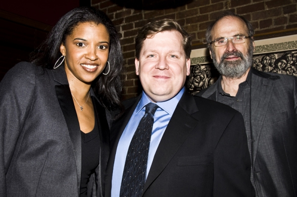 Renee Elise Goldsberry, David Lindsay-Abaire & Dan Sullivan