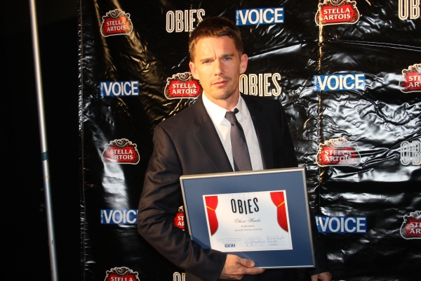 Ethan Hawke at CHAD DIETY, Hawke, Abraham & More Win Big at Obie Awards!
