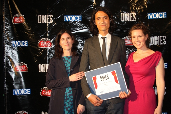 Kate Loewald, Jonas Hassen Khemiri and Lauren Weigel Photo