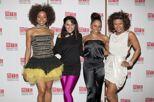 Erica Ash, Crystal Starr Knighton, Kyra Da Costa and Christina Sajous
