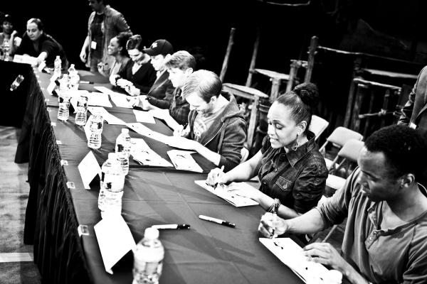 Photo Coverage: THE BOOK OF MORMON Celebrates Cast Album Release!