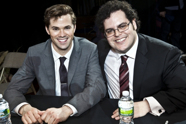Photo Coverage: THE BOOK OF MORMON Celebrates Cast Album Release!