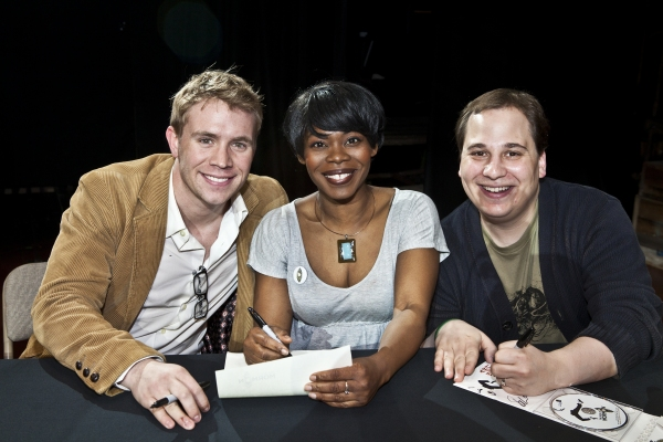 Brian Sears, Valisia LeKae and Jared Gertner