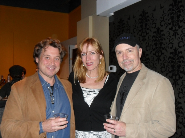 Cathlyn Melvin with Marisa Wegrzyn