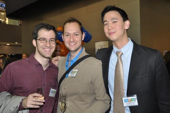 Will Aronson, Bill Nelson and Derrick Wang