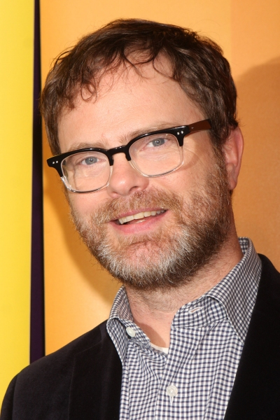Rainn Wilson  at SMASH's Messing, Huston, et al. at NBC Upfronts!