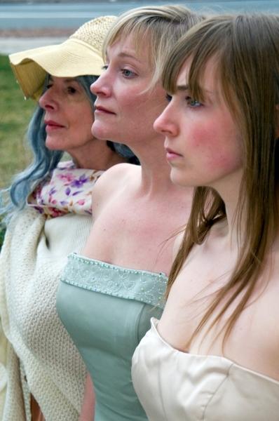 Grey Gardens Front - Back: Maggie Sczekan, Megan Van de Hey, Deborah Persoff