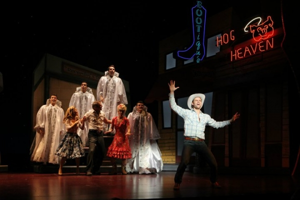 Photo Flash: LUCKY GUY Production Shots Released!