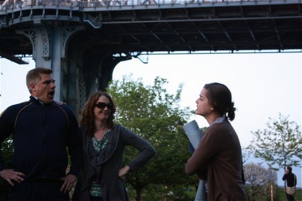 Philip Callen, Renata Hinrichs, and Samantha Walsh Photo