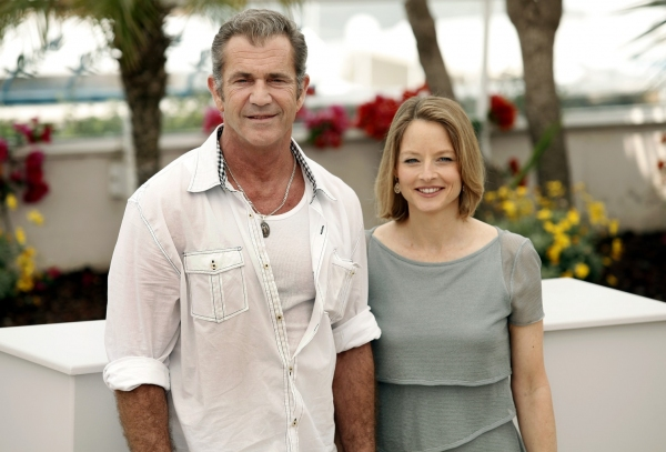 Mel Gibson and Jodi Foster