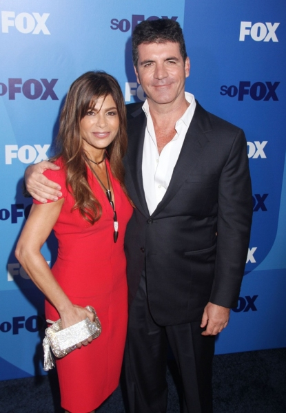 Paula Abdul and Simon Cowell at Stars Come Out for For 2011-2012 Season Announcement