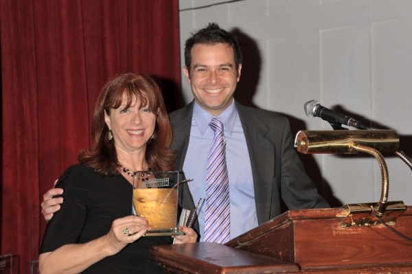 Photo Flash: Feldshuh, Prince, et al. at 2011 Theatre Museum Awards