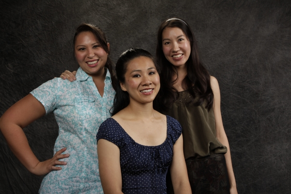 Jessica Yuki Leolana Ka`uhane, Diana Wan and Lacey Perrine