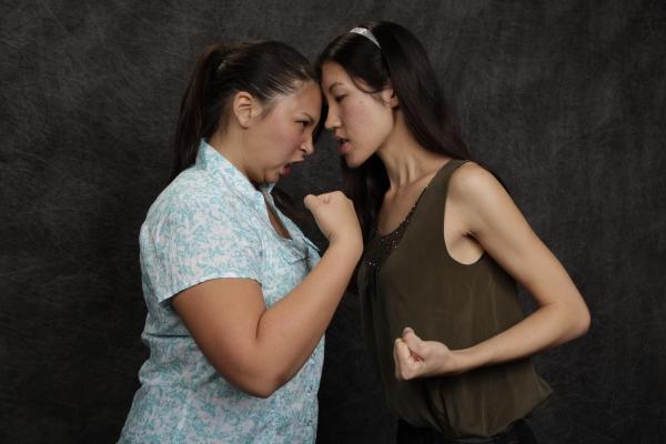 Jessica Yuki Leolana Ka`uhane and Lacey Perrine Chu