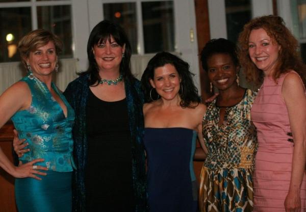 Cady Huffman, Ann Hampton Callaway, Dani Davis, LaChanze, Julie White