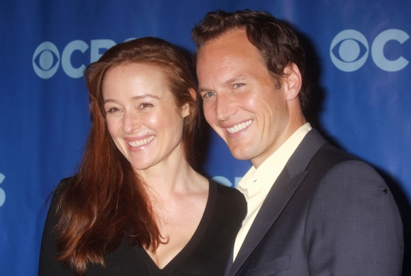 Jennifer Ehle and Patrick WIlson at Neil Patrick Harris, Alan Cumming et al. at CBS Upfront Luncheon