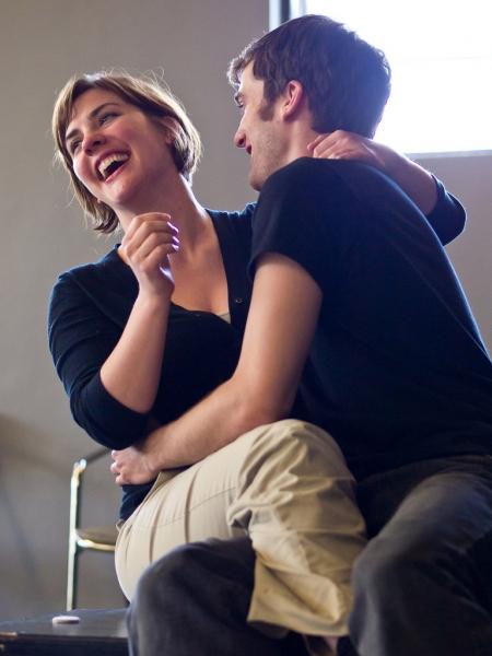 Peter (Kyle Johnson) and his girlfriend Paige (Zandi Carlson)