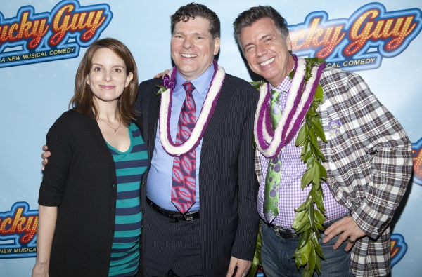 Photo Coverage: LUCKY GUY Opening Arrivals