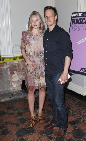 Sophie Flack & Josh Charles attending the Opening Night Public LAB Production of 'KnickerBocker' at the Public Theater in New York City.