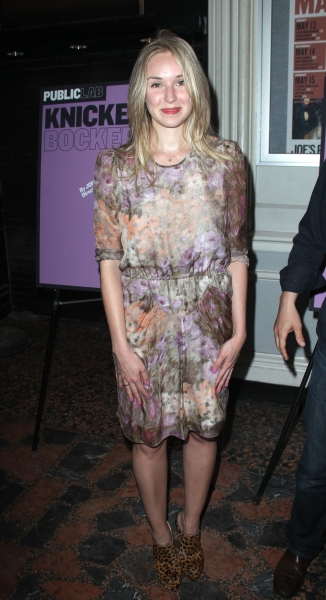Sophie Flack attending the Opening Night Public LAB Production of 'KnickerBocker' at the Public Theater in New York City.