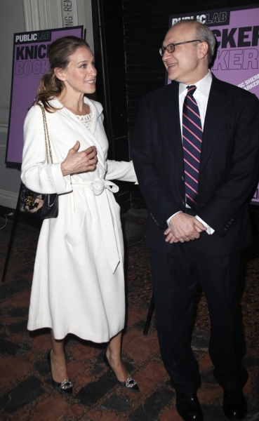 Sarah Jessica Parker & Brother Pippin Parker attending the Opening Night Public LAB Production of 'KnickerBocker' at the Public Theater in New York City.