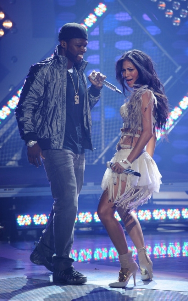 50 Cent and Nicole Scherzinger  Photo