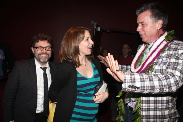 Tina Fey with Husband & Willard Beckham attending the Opening Night After Party for ' Photo