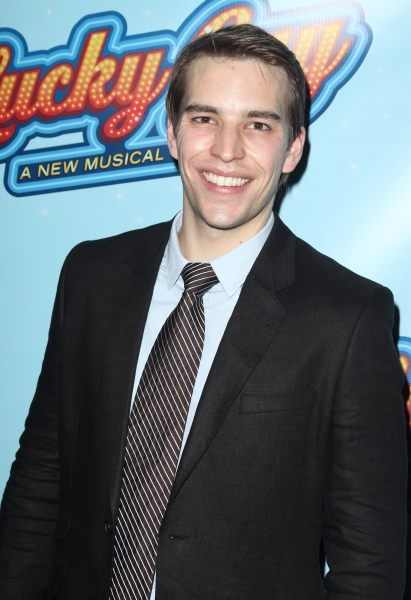 Wes Hart attending the Opening Night After Party for 'Lucky Guy' at Planet Hollywood in New York City.