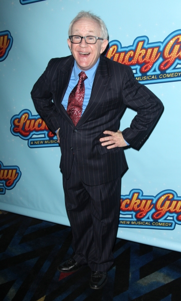 Leslie Jordan attending the Opening Night After Party for 'Lucky Guy' at Planet Hollywood in New York City.