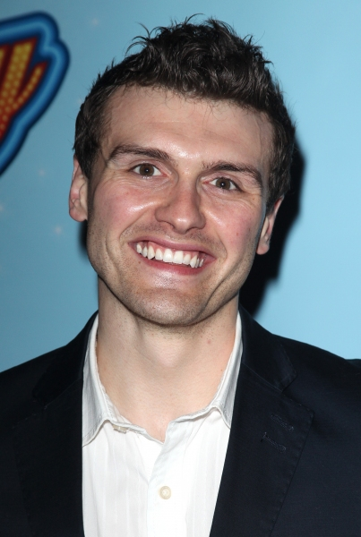 Joshua Woodie attending the Opening Night After Party for 'Lucky Guy' at Planet Hollywood in New York City.