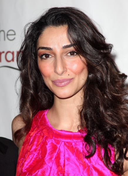 Necar Zadegan attending the 77th Annual Drama League Awards at the Mariott Marquis Hotel in New York City. © Walter McBride / WM Photography / Retna Ltd. at 74th Annual Drama League Awards - The Woman