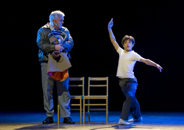 Giuseppe Bausilio as Billy and Rich Hebert as Dad