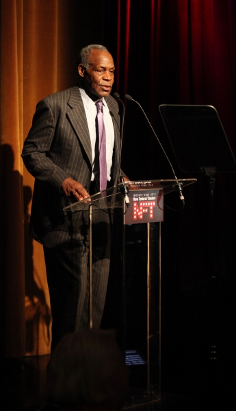 Danny Glover attending the Woodie King Jr's NFT New Federal Theatre 40th Reunion Gala Benefit Awards Presentation in New York City.