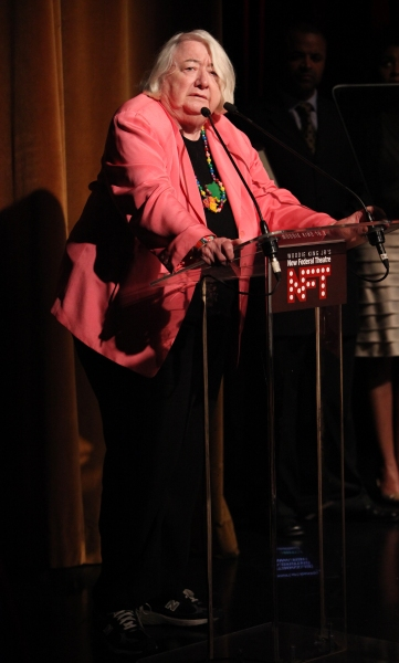 Elizabeth I. McCann attending the Woodie King Jr's NFT New Federal Theatre 40th Reunion Gala Benefit Awards Presentation in New York City.