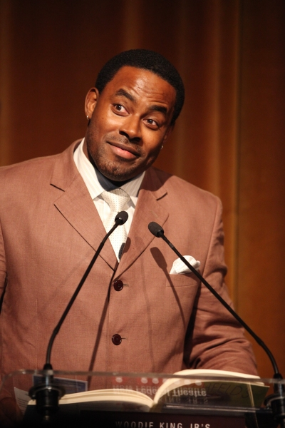 Lamman Rucker attending the Woodie King Jr's NFT New Federal Theatre 40th Reunion Gala Benefit Awards Presentation in New York City.