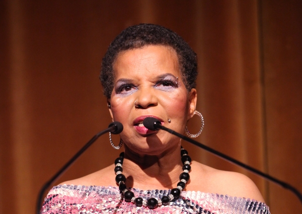 Ntozake Shange attending the Woodie King Jr's NFT New Federal Theatre 40th Reunion Gala Benefit Awards Presentation in New York City.