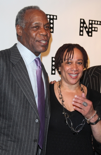 Danny Glover & S. Epatha Merkerson attending the Woodie King Jr's NFT New Federal Theatre 40th Reunion Gala Benefit in New York City.