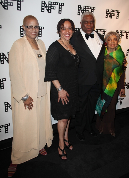 Terrie Williams, S. Epatha Merkerson, Woodie King Jr. & Ruby Dee attending the Woodie Photo