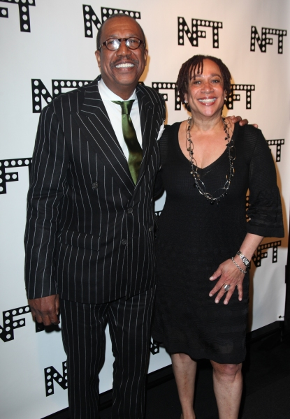 George Faison & S. Epatha Merkerson attending the Woodie King Jr's NFT New Federal Theatre 40th Reunion Gala Benefit in New York City. at NFT 40th Reunion Awards Starry Gala Arrivals