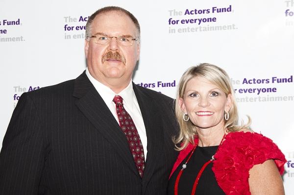 Andy Reid & Wife Photo