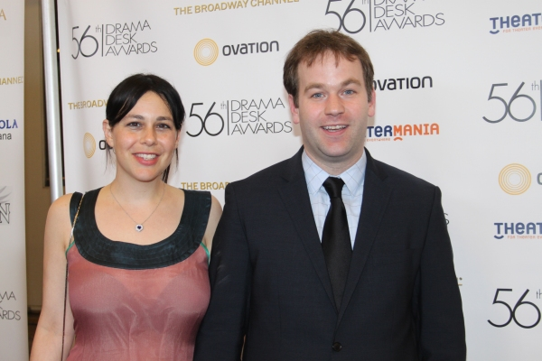 Jenny Stein and Mike Birbiglia at 2011 Drama Desk Awards Arrivals - Part 2