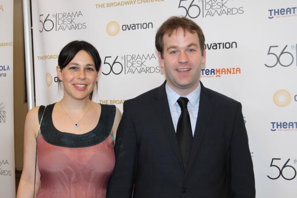 Jenny Stein and Mike Birbiglia