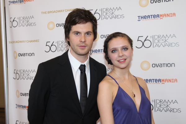 Tom Riley and Bel Powley